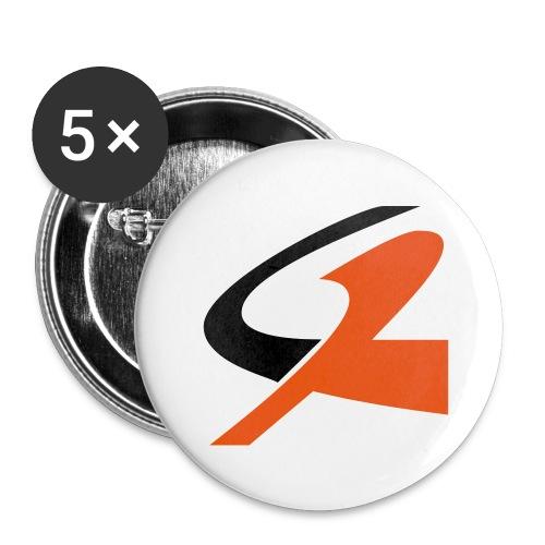 5 Spillette - Confezione da 5 spille piccole (25 mm)