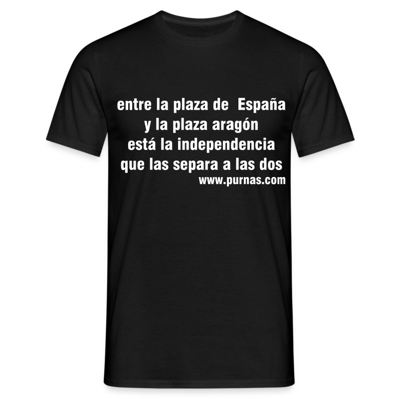 Jota popular independentista - Camiseta hombre