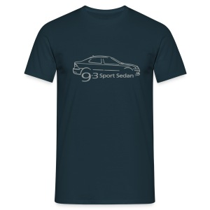 Saab 9-3 Sport Sedan - Men's T-Shirt