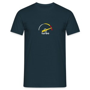 Saab turbo gauge/Griffin - Men's T-Shirt
