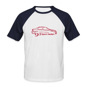 Saab 9-3 Sport Sedan - Men's Baseball T-Shirt