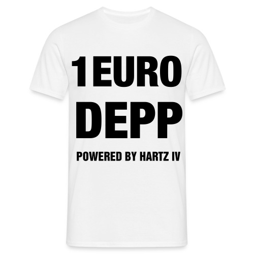 Shirt 1 Euro Depp - Männer T-Shirt