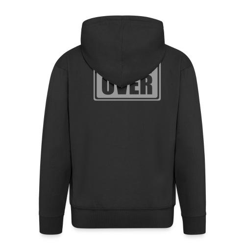 hooded game over top - Men's Premium Hooded Jacket