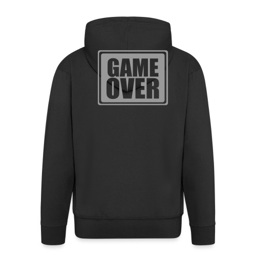 hooded game over top - Men's Premium Hooded Jacket