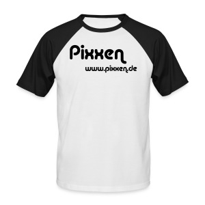 T-Shirt, weiß - Männer Baseball-T-Shirt