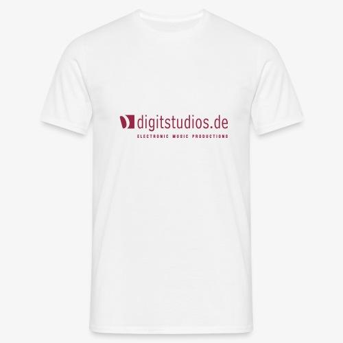 digitstudios.de white/red - Männer T-Shirt