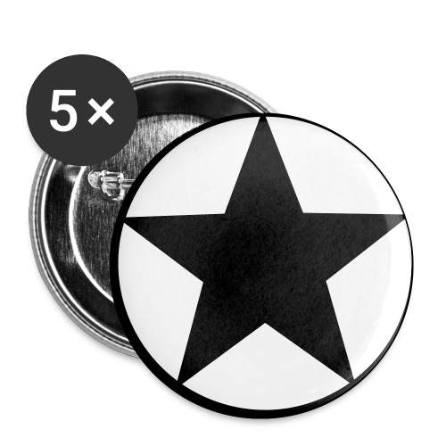 Star Badge - Buttons small 25 mm