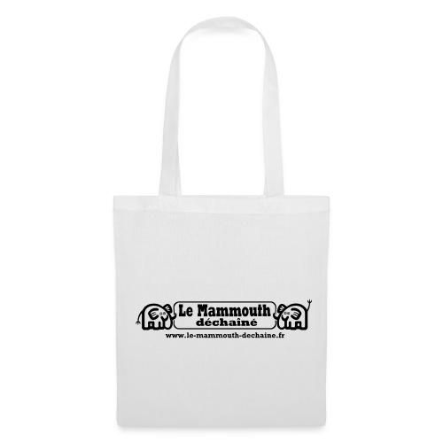 Tote Bag - Sifflet, crécelle, slogans: tout tient dans le sac Mammouth.