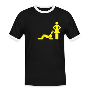 Plakker - Mannen contrastshirt