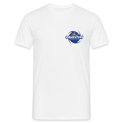 EVO blanc UNI - pseudo personalisable - T-shirt Homme