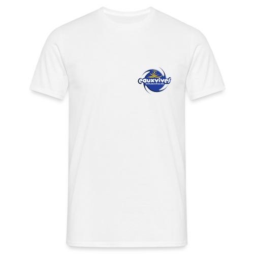 EVO Blanc Uni - T-shirt Homme