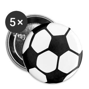 Voetbal Button - Buttons klein 25 mm