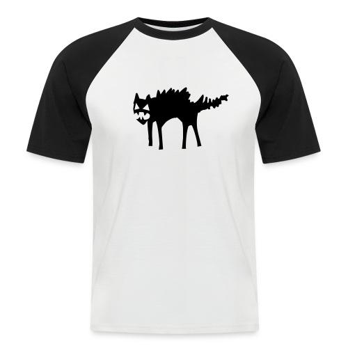 Gato Rabioso - Camiseta béisbol manga corta hombre