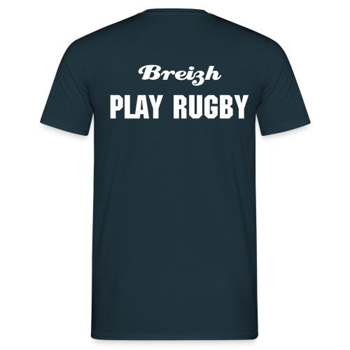 BREIZH RUGBY PLAY RUGBY - T-shirt Homme