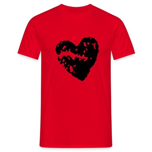 Heart comfort fit tee - Men's T-Shirt