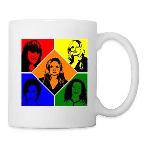 Spice Girls Pop Art (Mug) - Mug