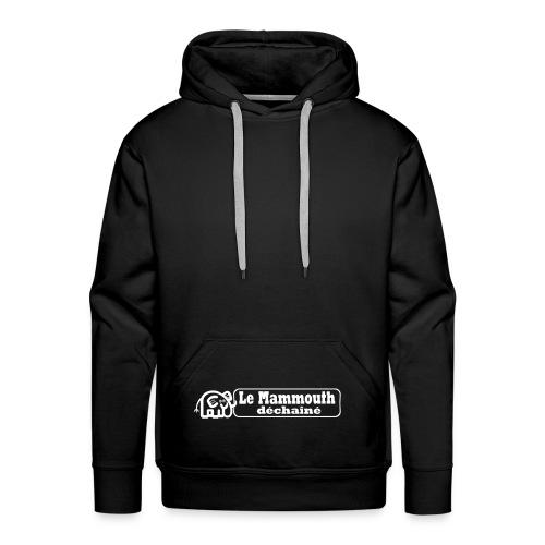 Sweat-shirt à capuche Premium pour hommes - Poche kangourou déchaînée.