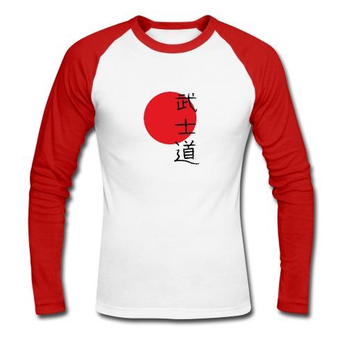 bushido - Longsleeve - Männer Baseballshirt langarm