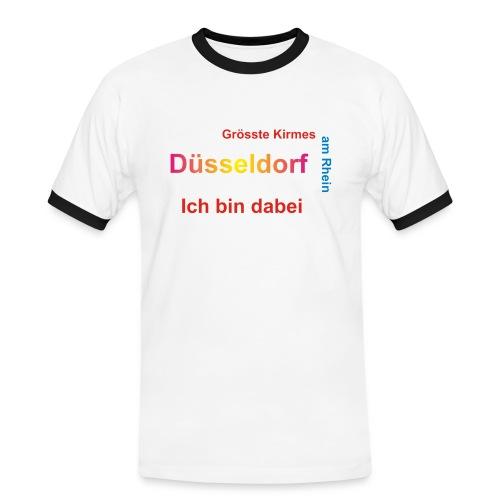 Düsseldorf - Männer Kontrast-T-Shirt