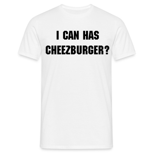 cheezburger - Men's T-Shirt