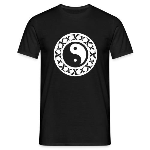 Yin Yang Tribal - Männer T-Shirt