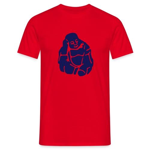 Sitting Buddha - Männer T-Shirt