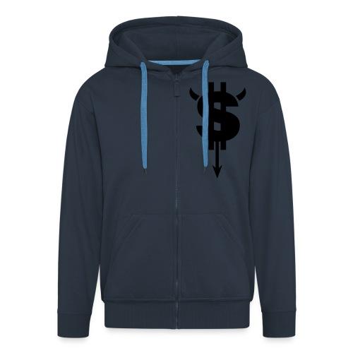 S*** Happens Top - Men's Premium Hooded Jacket