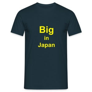 Big in Japan / Small in Luxembourg - Men's T-Shirt