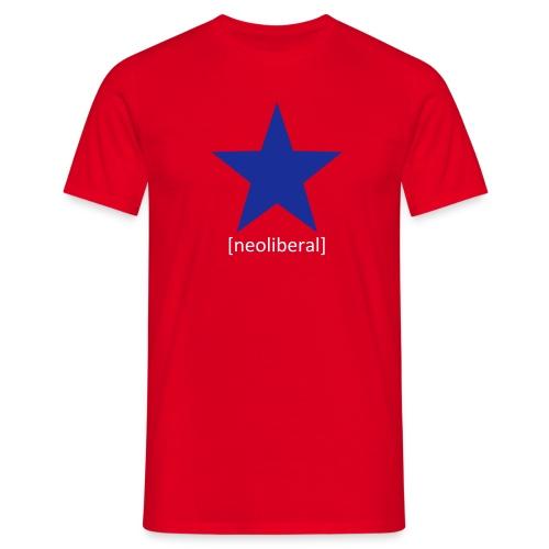 Neoliberal - Männer T-Shirt
