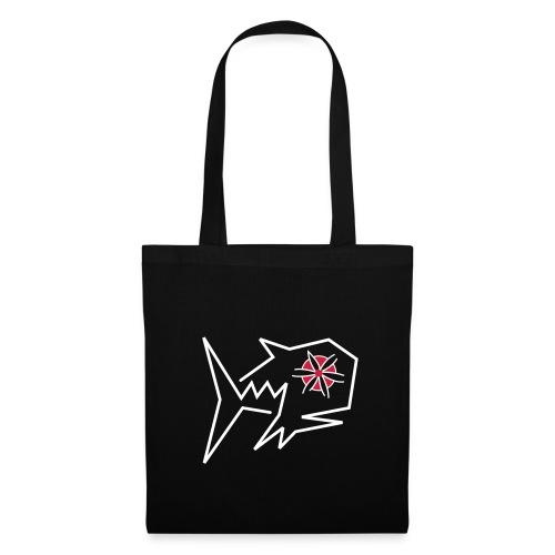 Blumenfisch Tasche - Stoffbeutel