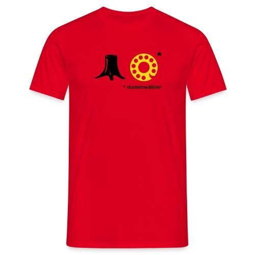 Stammwähler - Männer T-Shirt