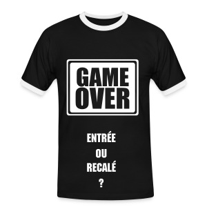 Game Over (Security Staff) - T-shirt contrasté Homme