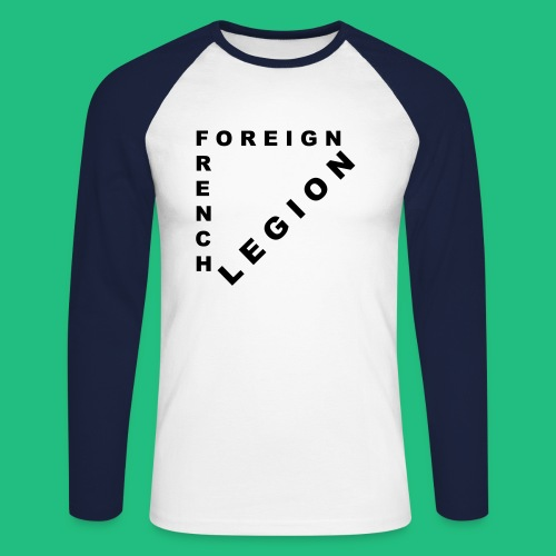 French Foreign Legion - T-shirt baseball manches longues Homme