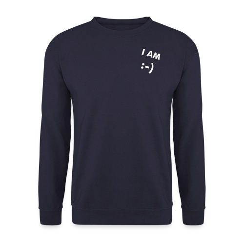 I AM :-) affirmation Sweatshirt - Men's Sweatshirt