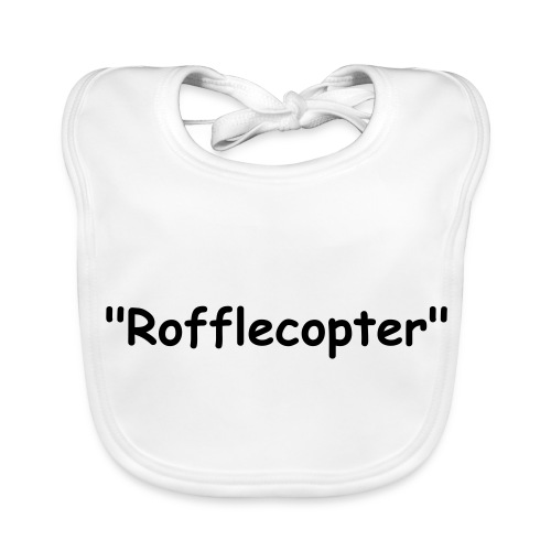 Baby's first Rofflecopter - Baby Organic Bib