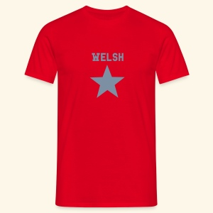 Wales Star - Men's T-Shirt