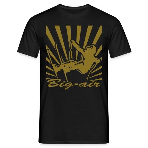 Big-Air - T-skjorte for menn