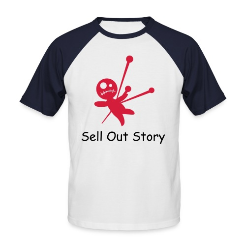 Sell Out Story T-shirt - Men's Baseball T-Shirt