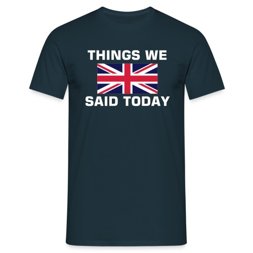 T.shirt men - Union Jack + Things We Said Today - Maglietta da uomo