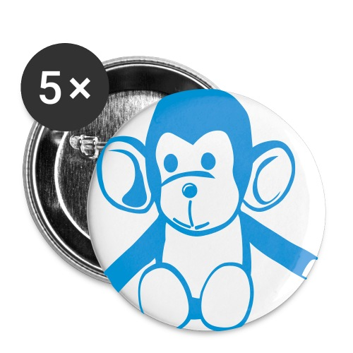 The Cheeki Monkey - Buttons large 2.2''/56 mm(5-pack)