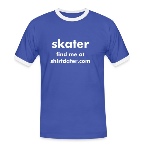 Shirtdater.com exclusive dating wear - Men's Ringer Shirt