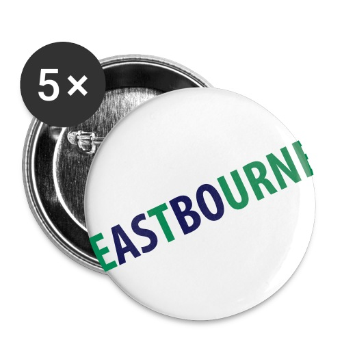 ASBOURNE badges - Buttons small 1''/25 mm (5-pack)