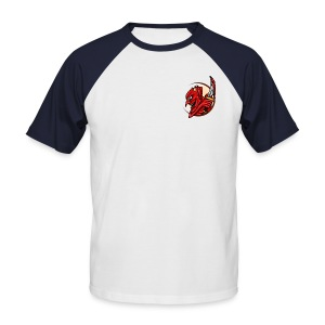 The Mark of the Devil. S/S Fire - Men's Baseball T-Shirt