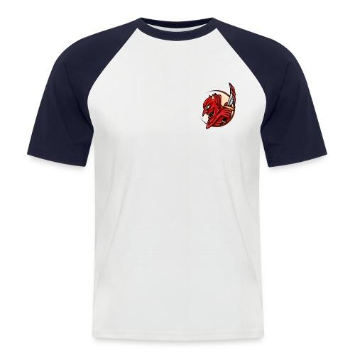 The Mark of the Devil. S/S Fire - Men's Baseball T-Shirt