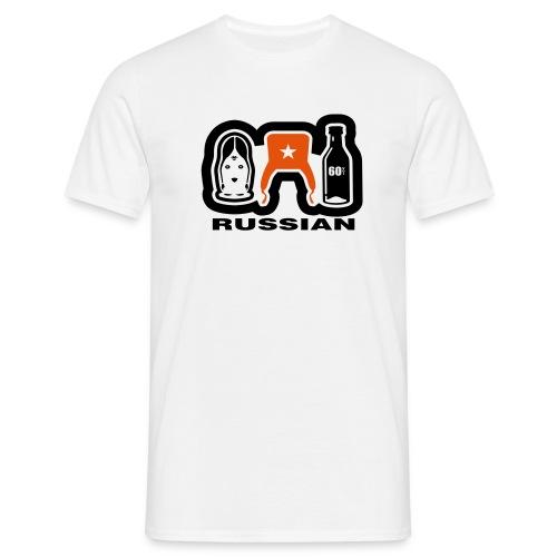 russia - Männer T-Shirt
