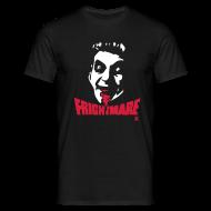 T-Shirts ~ Men's T-Shirt ~ Frightmare plain black tee