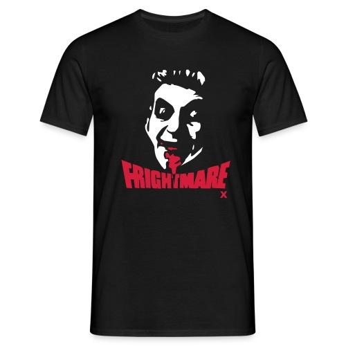 Frightmare plain black tee - Men's T-Shirt