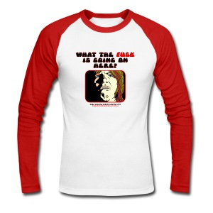 Horror Hospital Askwith WTF - Men's Long Sleeve Baseball T-Shirt