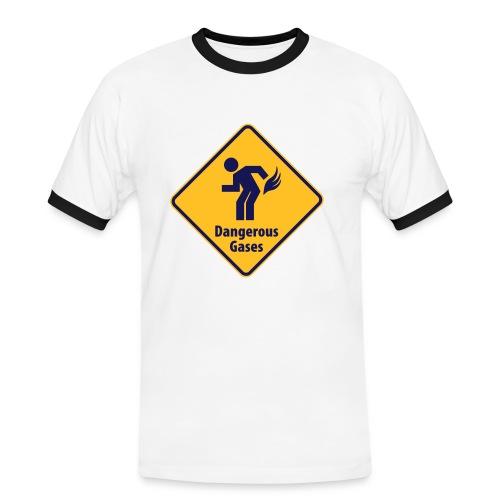 Tshirt Homme Dangerous Gases - T-shirt contrasté Homme