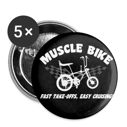 Lot de 5 moyens badges (32 mm)